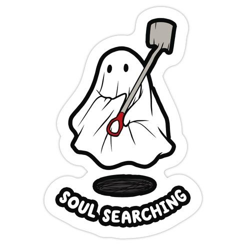 Soul Searching Die Cut Sticker