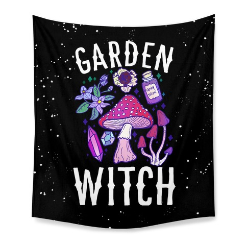 Garden Witch Tapestry