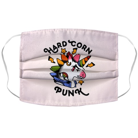 Hard Corn Punk Accordion Face Mask
