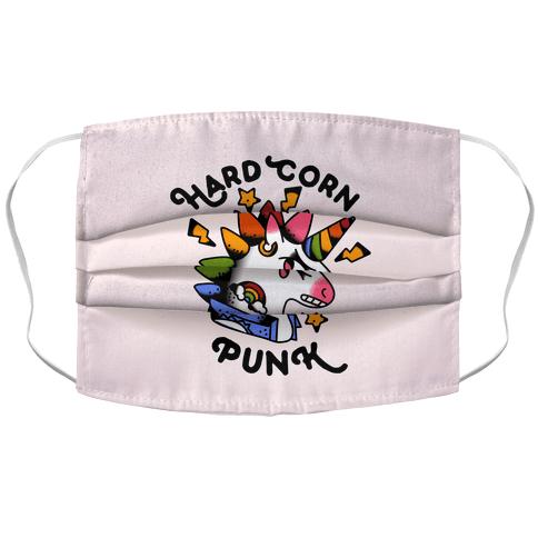 Hard Corn Punk Accordion Face Mask