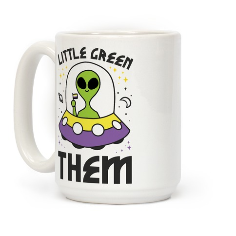 Little Green Them Coffee Mug
