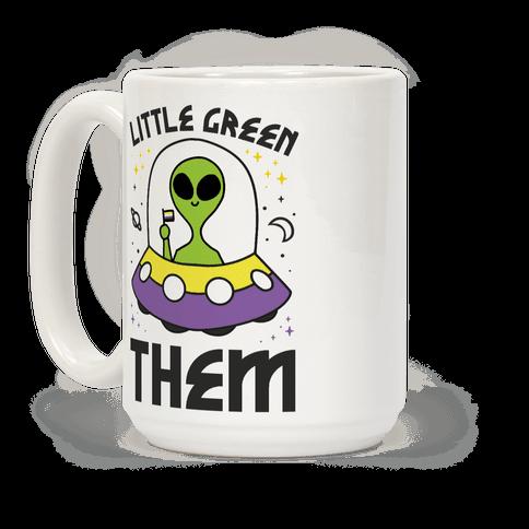 Little Green Them Coffee Mug