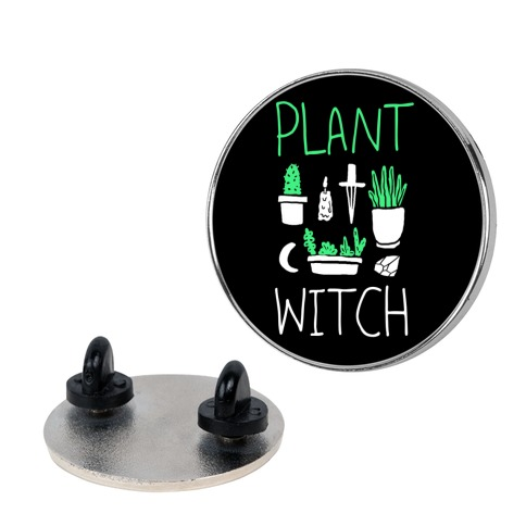 Plant Witch Pin