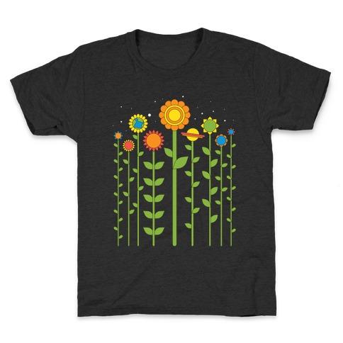 Plant Planets Kids T-Shirt