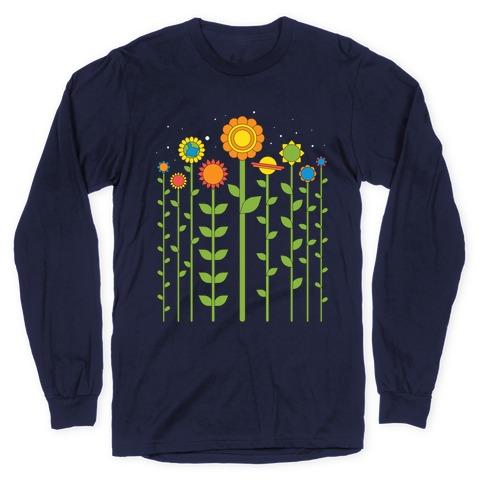 Plant Planets Long Sleeve T-Shirt