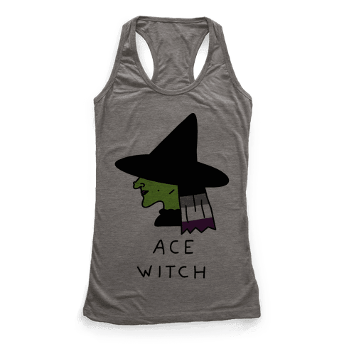 Ace Witch Racerback Tank Top