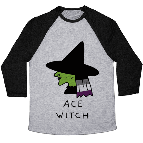 Ace Witch Baseball Tee