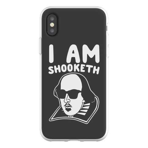 I Am Shooketh Phone Flexi-Case