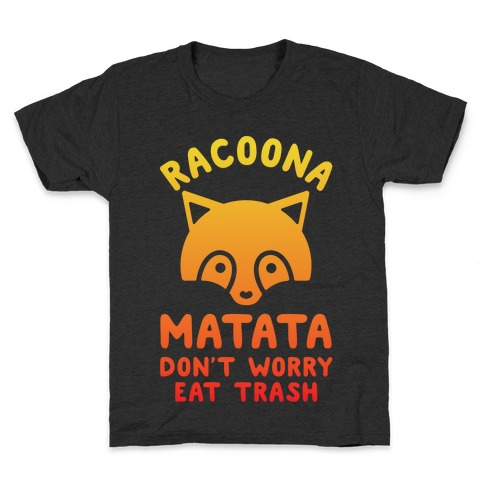 Raccoona Matata Ombre Kids T-Shirt