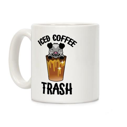 Iced Coffee Trash Coffee Mug