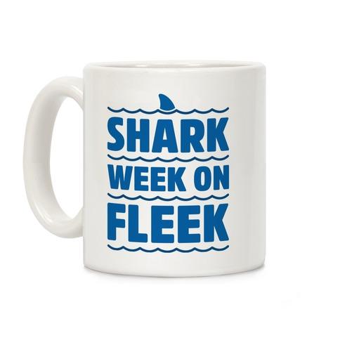 Shark Week On Fleek Coffee Mug