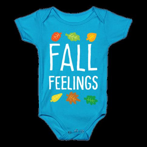 Fall Feelings Baby Onesy