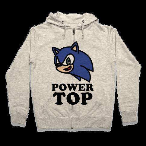 Power Top Zip Hoodie