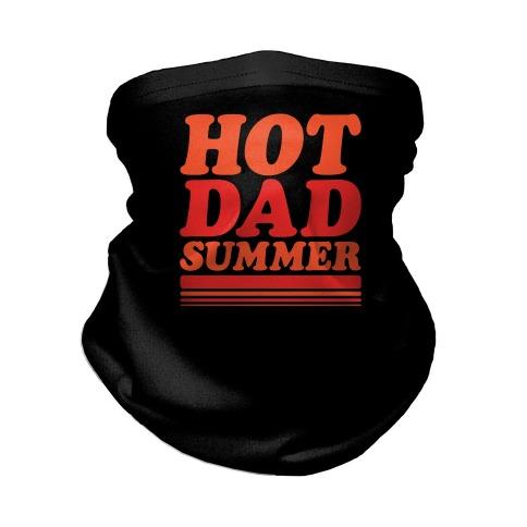 Hot Dad Summer Parody Neck Gaiter