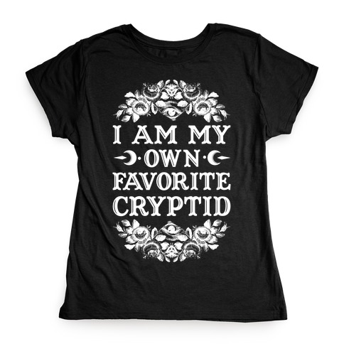 Favorite Cryptid Womens T-Shirt