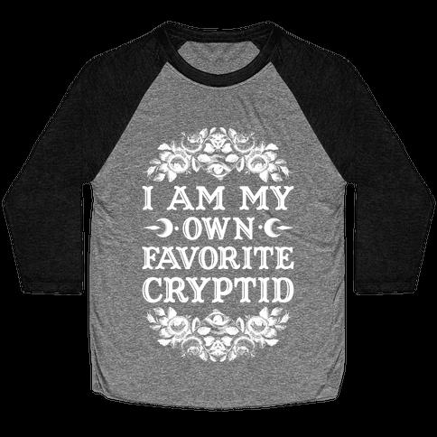 Favorite Cryptid Baseball Tee