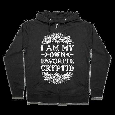 Favorite Cryptid Zip Hoodie