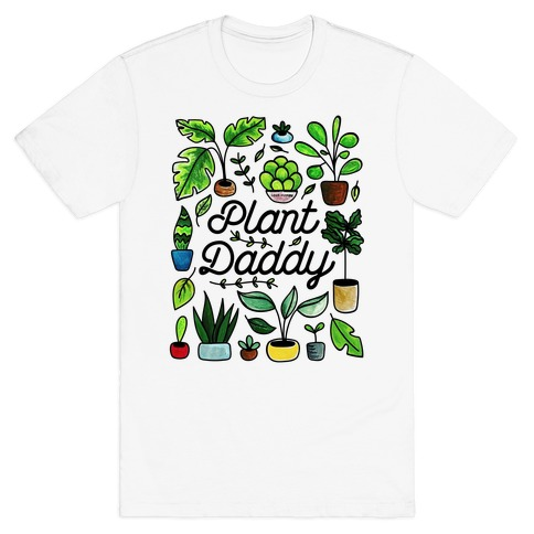 Plant Daddy Coloring Sheet Winner T-Shirt