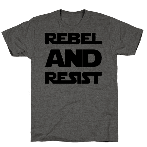 Rebel and Resist Parody