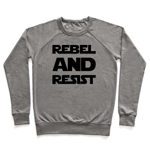 Rebel and Resist Parody Pullover