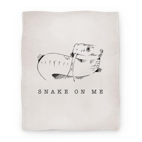 Snake On Me Blanket