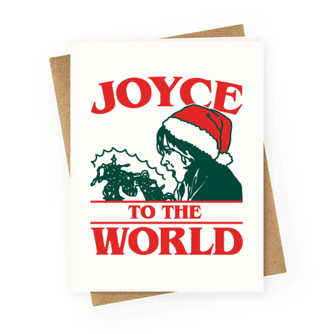 Joyce To The World Parody Greeting Card