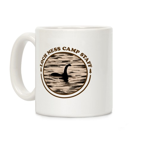 Loch Ness Camp Staff Coffee Mug