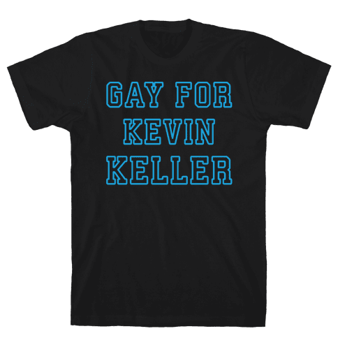 Gay For Kevin Keller Parody White Print Mens T-Shirt