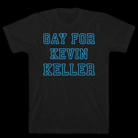 Gay For Kevin Keller Parody White Print Mens T-Shirt