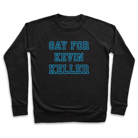 Gay For Kevin Keller Parody White Print Pullover