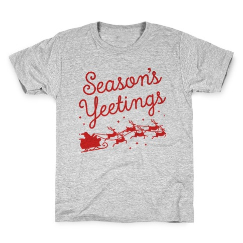 Season's Yeetings Kids T-Shirt
