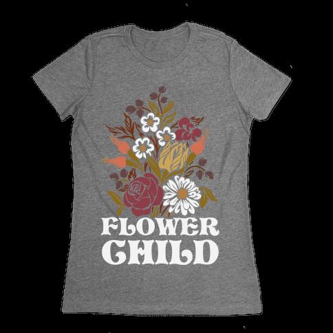 Flower Child Womens T-Shirt