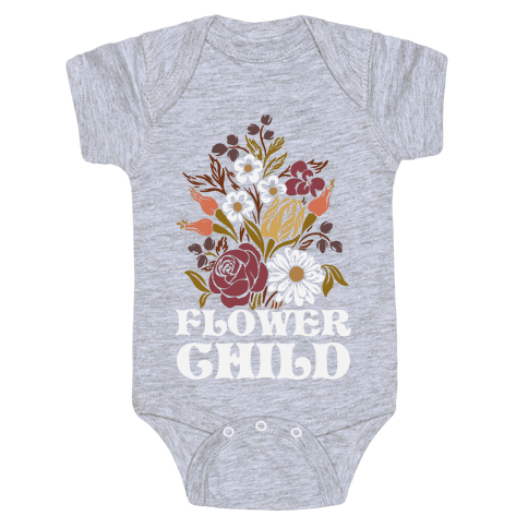 Flower Child Baby Onesy