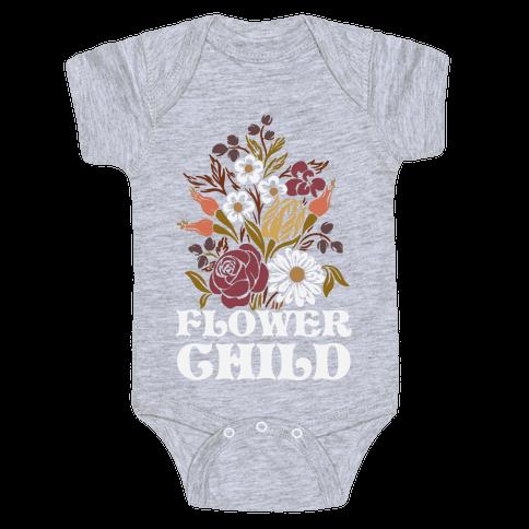 Flower Child Baby Onesy