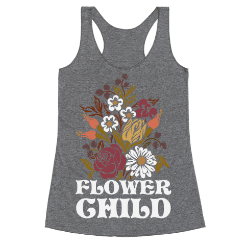 Flower Child Racerback Tank Top