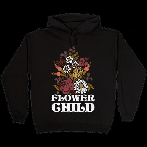 Flower Child Hooded Sweatshirt