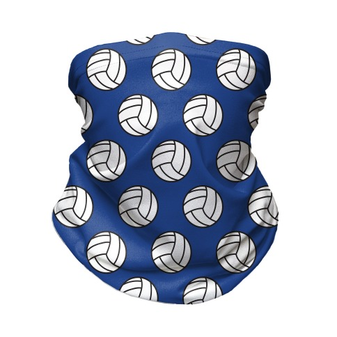 Volleyball Pattern Neck Gaiter