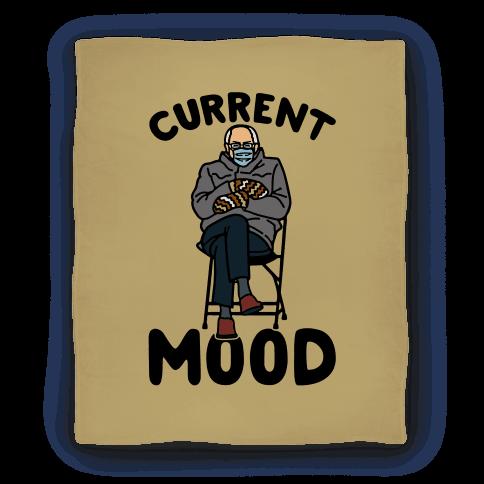 Current Mood Sassy Bernie Sanders Blanket