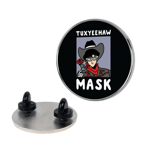 Tuxyeehaw Mask Pin