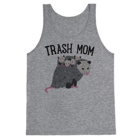Trash Mom Opossum Tank Top