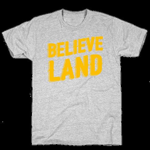 Believeland Mens T-Shirt