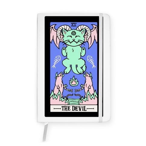 Creepy Cute Tarot: The Devil Notebook