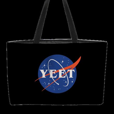 Yeet Nasa Logo Parody Weekender Tote