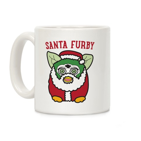 Santa Furby Coffee Mug