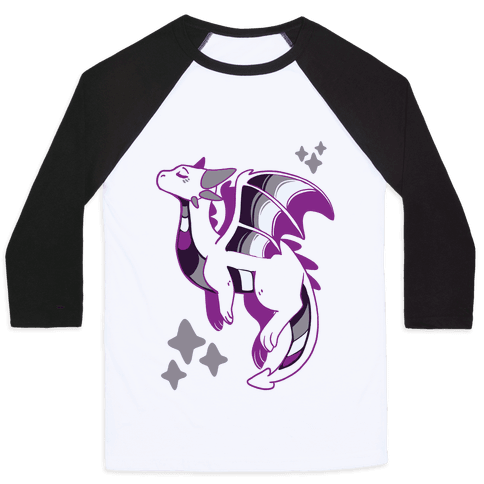 Ace Pride Dragon Baseball Tee