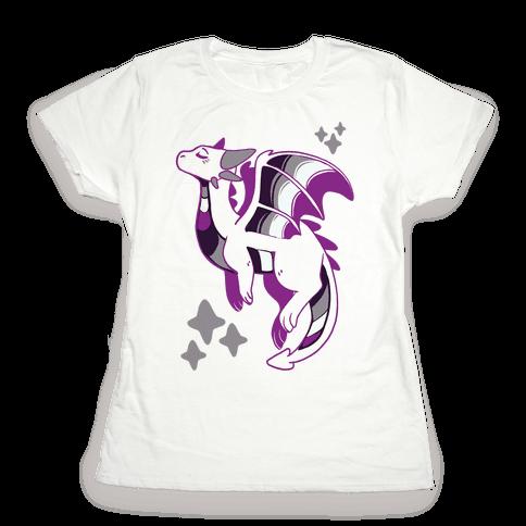 Ace Pride Dragon Womens T-Shirt