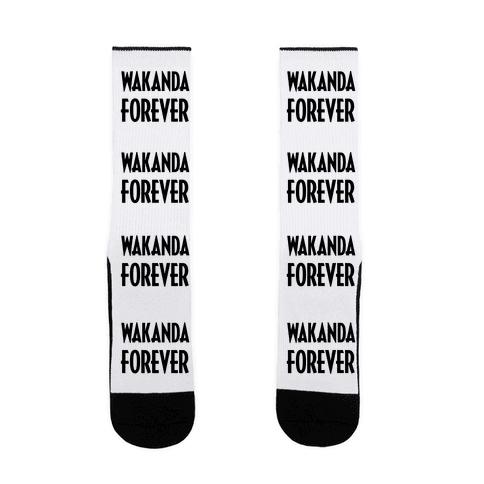 Wakanda Forever Sock