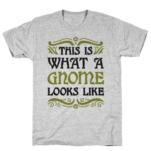 This Is What A Gnome Looks Like T-Shirt