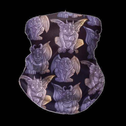 Gargoyles Pattern Neck Gaiter