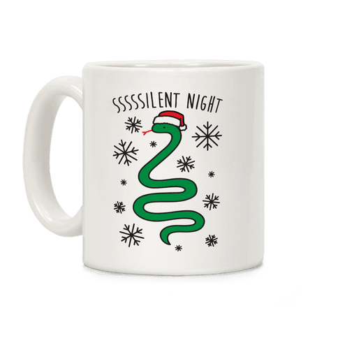 Sssssilent Night Snake Coffee Mug